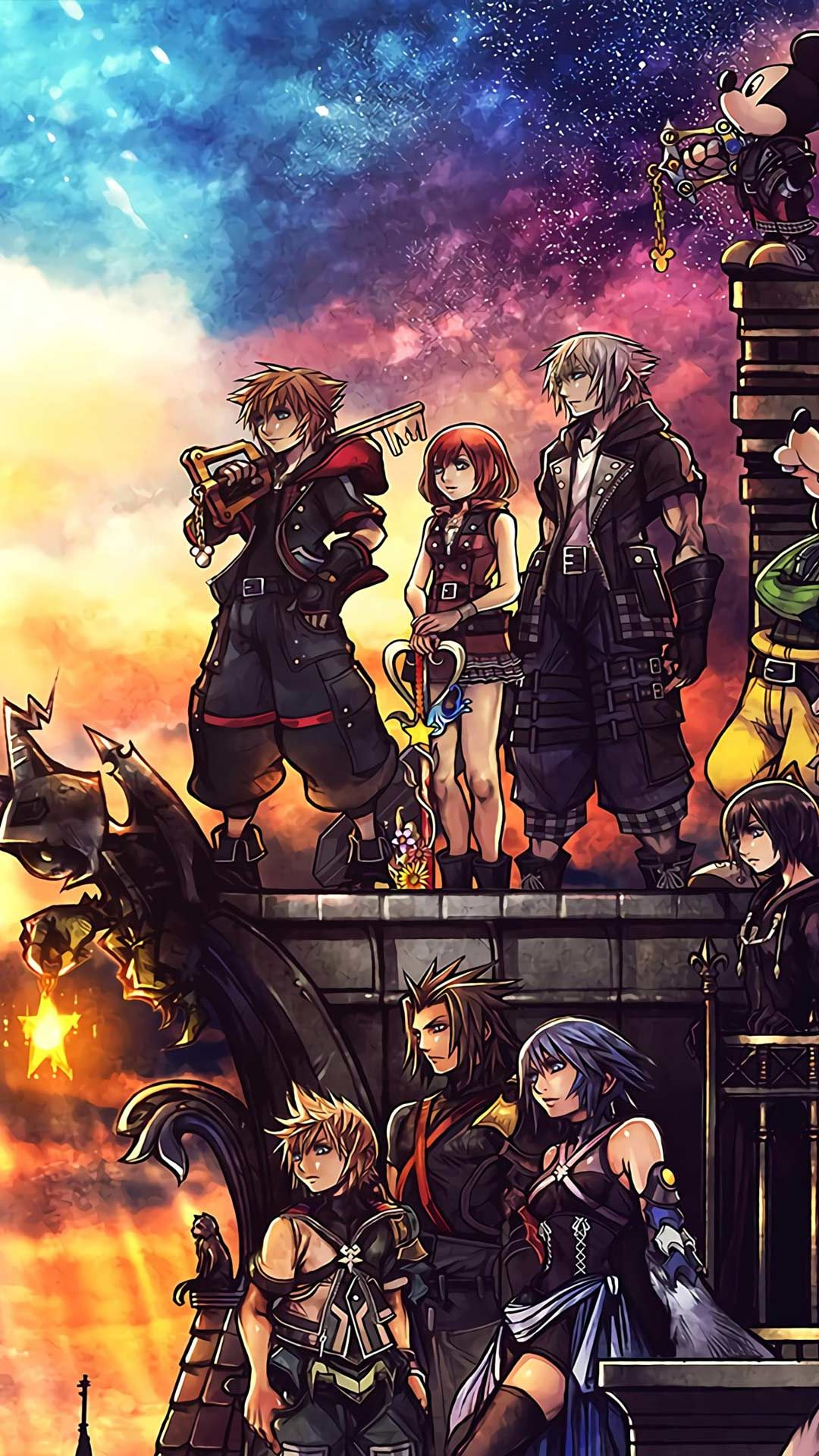 20 Kingdom Hearts 3 Phone Wallpaper Backgrounds For Free Download 2020