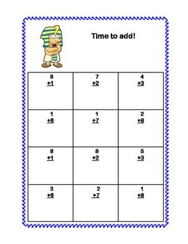 Math Addition Subtraction Within 20 Worksheets Ancient Egyptian Theme Math Addition Addition And Subtraction Subtraction