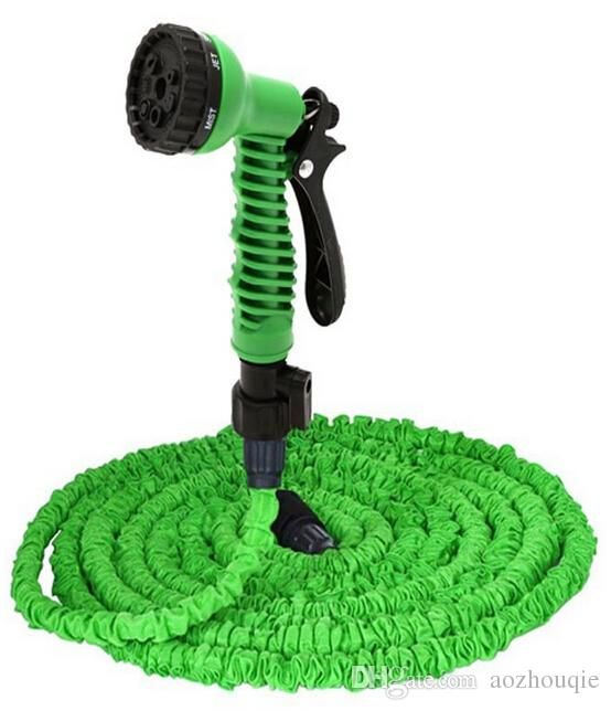 Silicone Hose 100 Ft Garden Water Hose Foot Expandable Retractable Flexible 100 Ft Garden Water Watering Hose Waterin Garden Hose Water Garden Garden Hose Reel