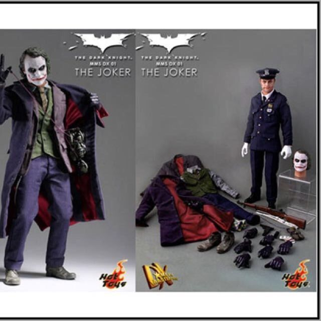 Hot Toys 1 6 The Dark Knight The Joker Dx01 Brand New In Original