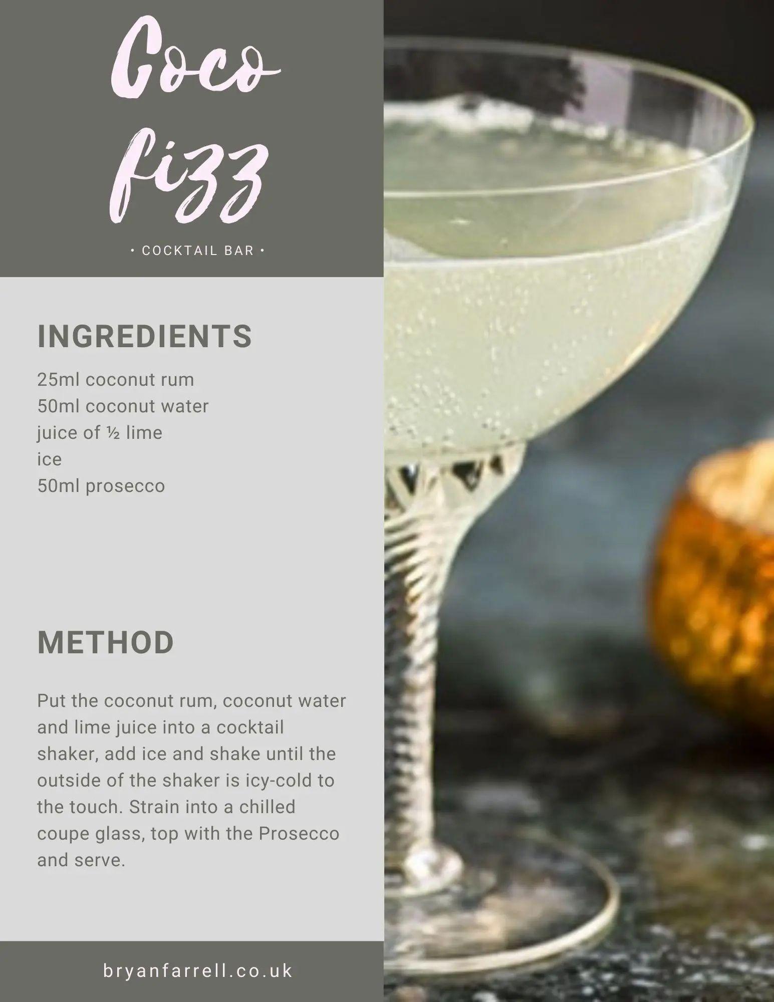 Wedding Cocktail Ideas 22