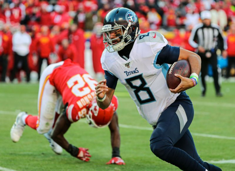 QB Marcus Mariota 'dazzling' Raiders in area they would