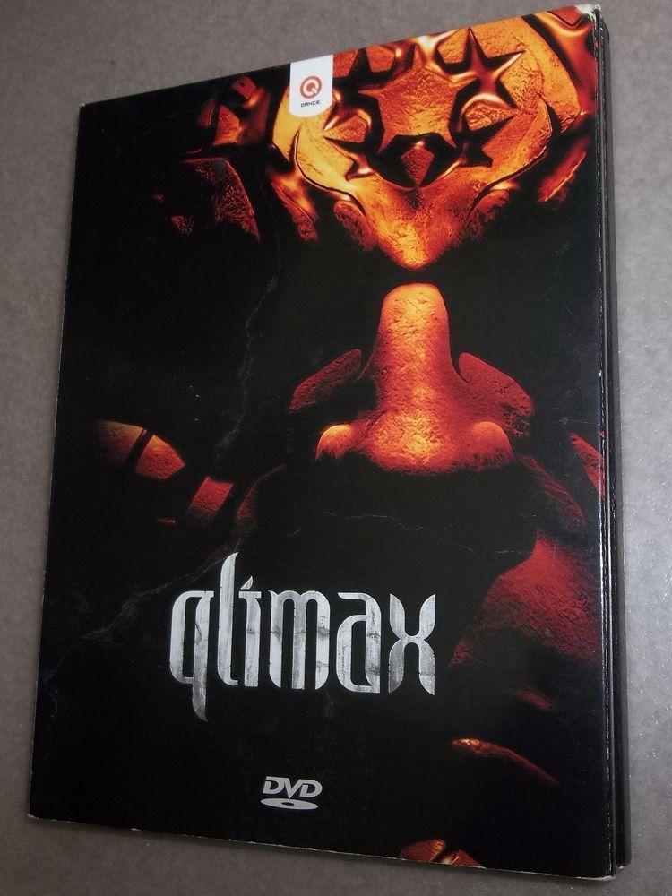 QLIMAX 2006  DVD + CD (2 DISC SET) nm Brennan Heart Alpha2 Zany Technoboy RARE