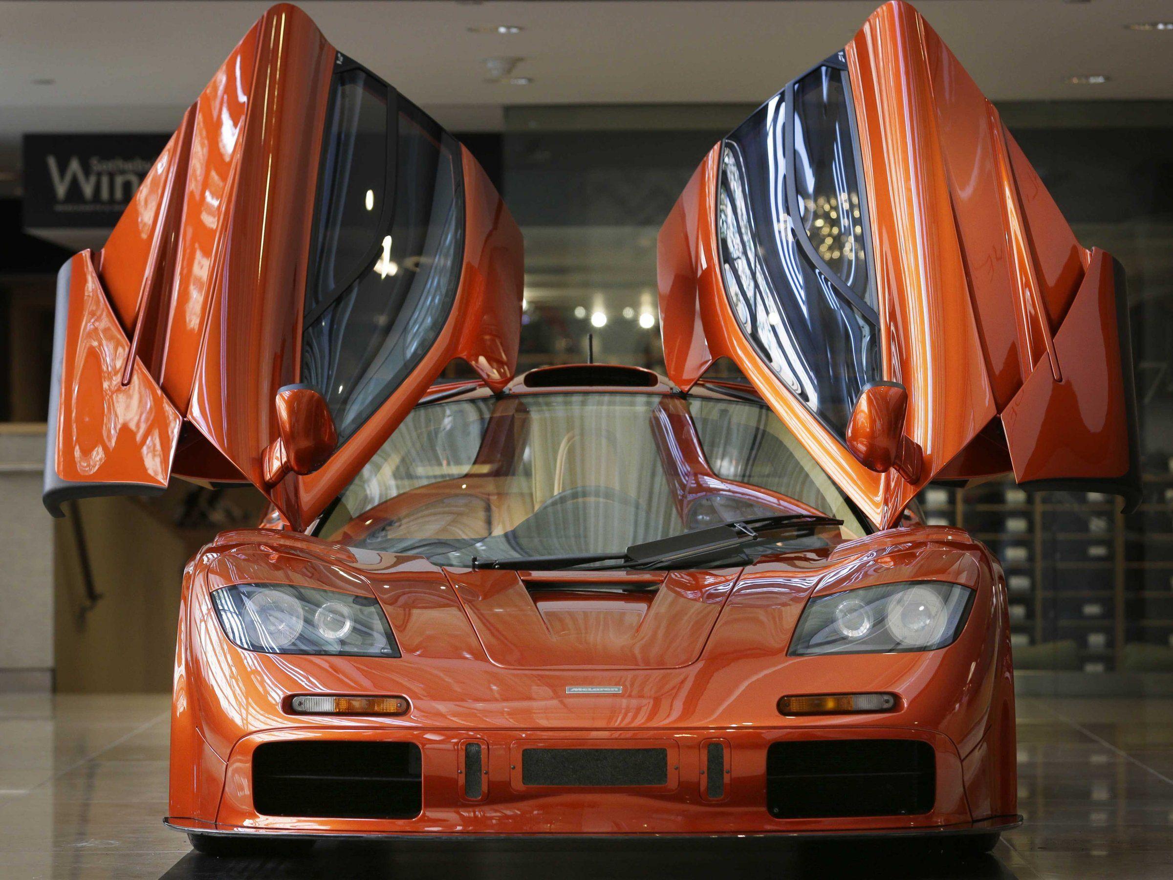 Mclaren F1 Supercar Turns 25 Years Old Photos Super Cars Mclaren F1 Mclaren F1 Lm