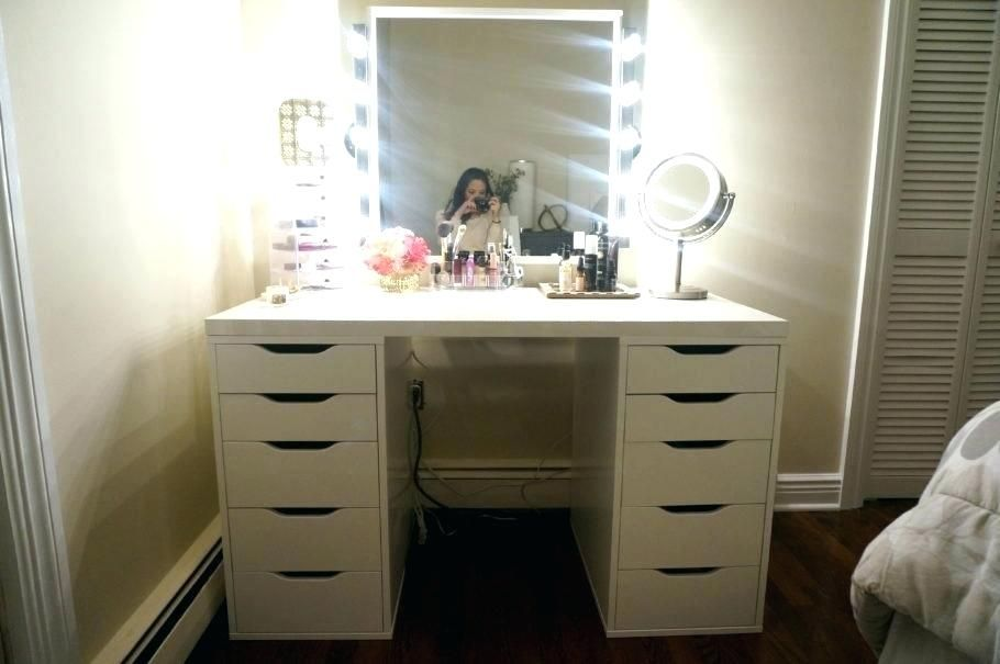 Outstanding Makeup Desk With Mirror Pics Makeup Desk With Mirror And Makeup Desk With Drawers White Makeup Desk With Drawers And Dekorasi Rumah Rumah Dekorasi