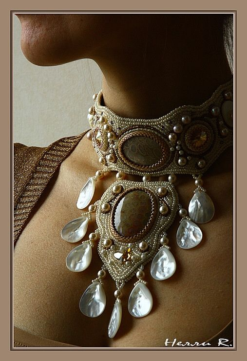 """Gallery.ru / Photo # 5 - Necklace """"Giselle"""" - Beady09:"""