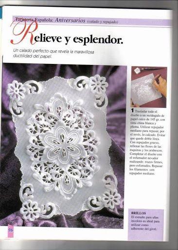 tarjeteria española(calados perfectos) - Mary. 2 - Álbumes web de Picasa