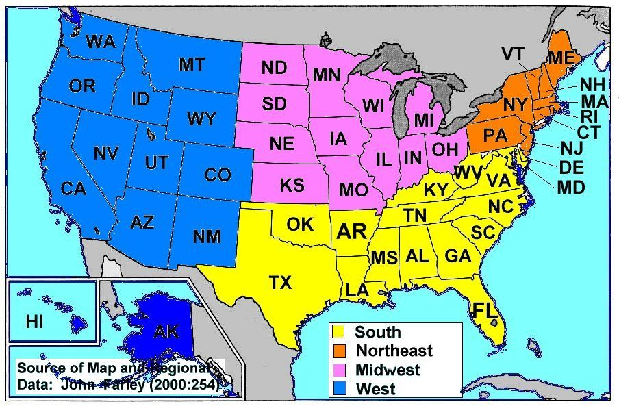 GOOD TO KNOW I Never Know What Is What Good To Know - Midwest united states map