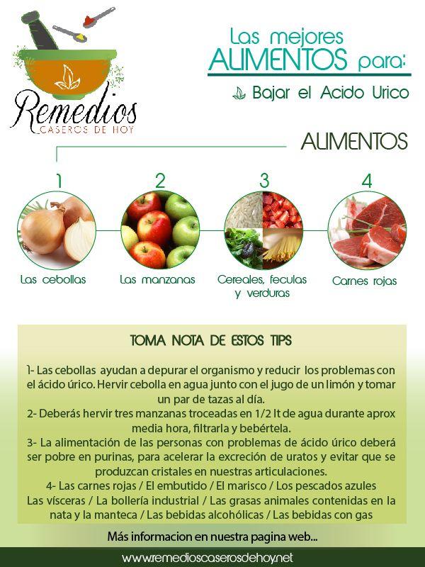 alimentos recomendados gestation doblar el ácido úrico