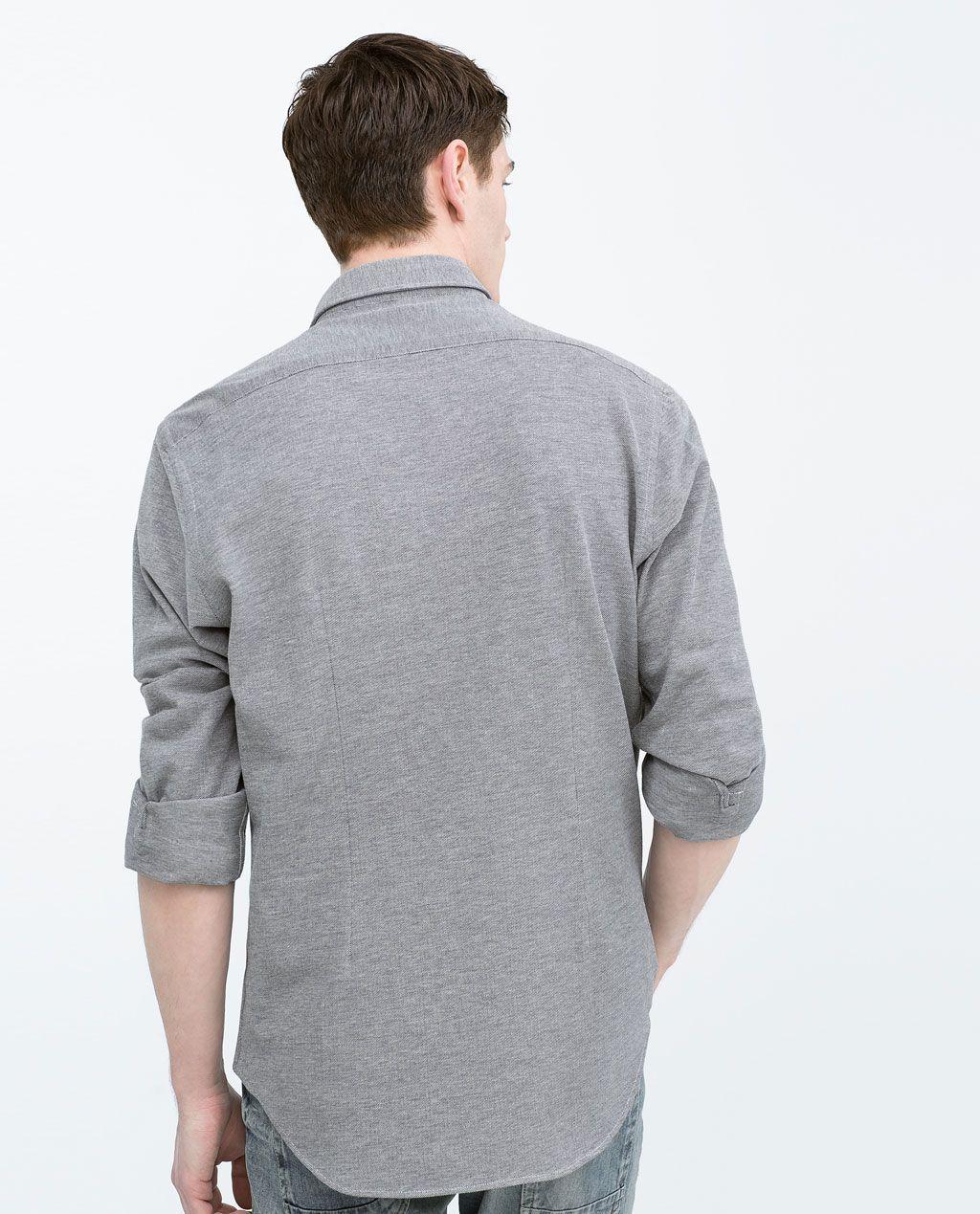 ZARA - MAN - Piqué shirt
