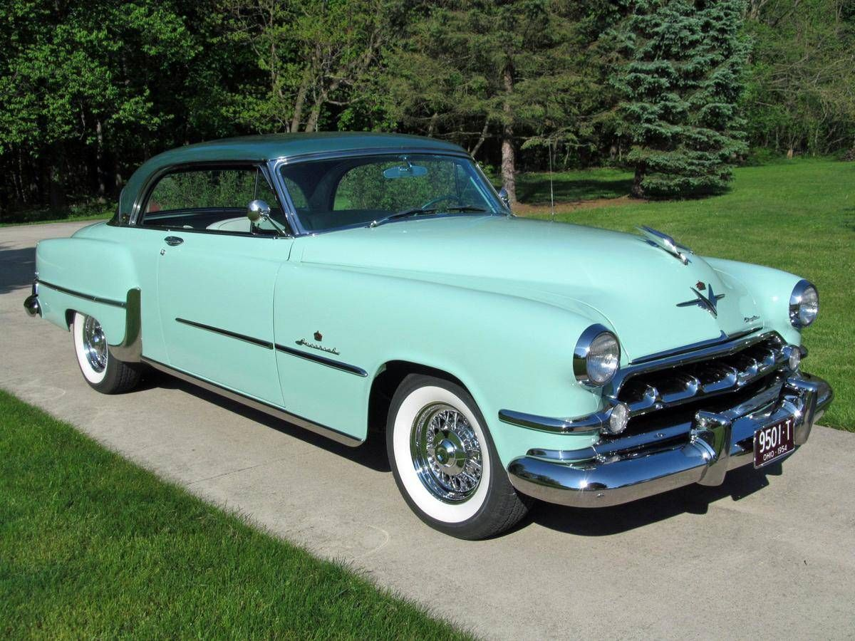 1954 Chrysler Imperial Custom Newport Hardtop Coupe Chrysler Imperial Classic Cars Trucks American Classic Cars