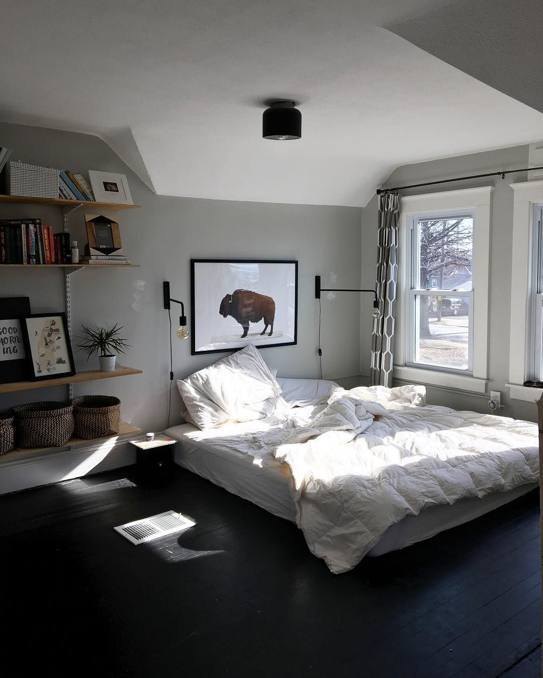 8 Reasons You Should Put Your Bed On The Floor Comfy Bedroom
