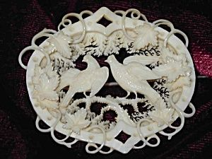 Ivory Brooch  circa 1800