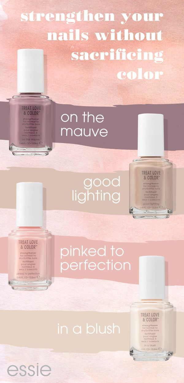 give your nails some TLC with NEW essie treat love & color. our ...