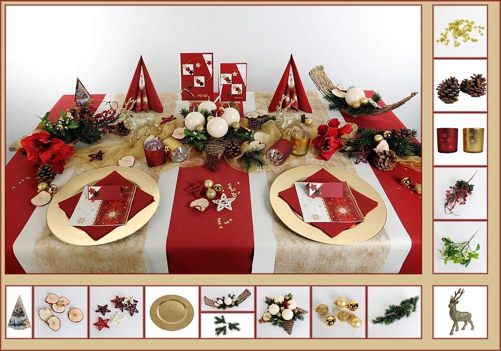 Tischdeko weihnachten 8 in bordeaux als mustertisch tischdeko weihnachten - Weihnachtstischdeko silber ...