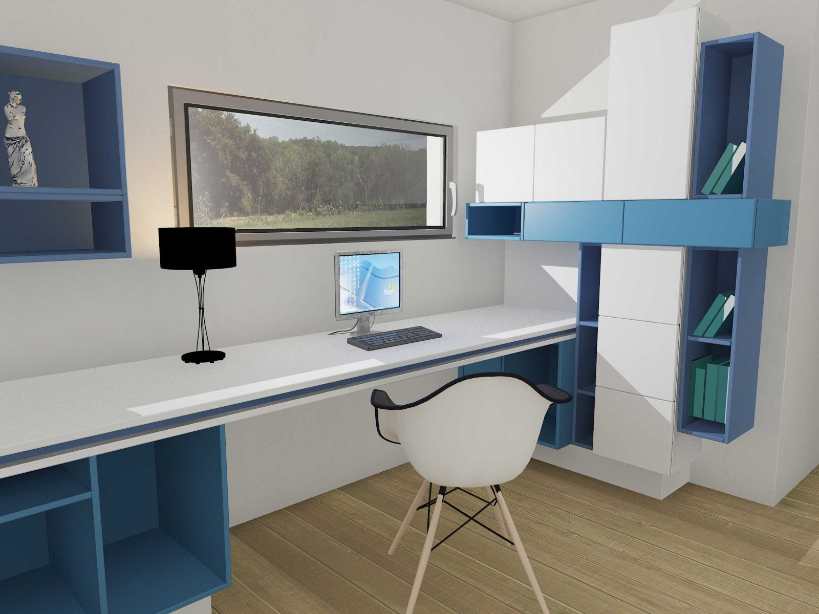 l quipe creativ mobilier s agrandit c t particulier. Black Bedroom Furniture Sets. Home Design Ideas