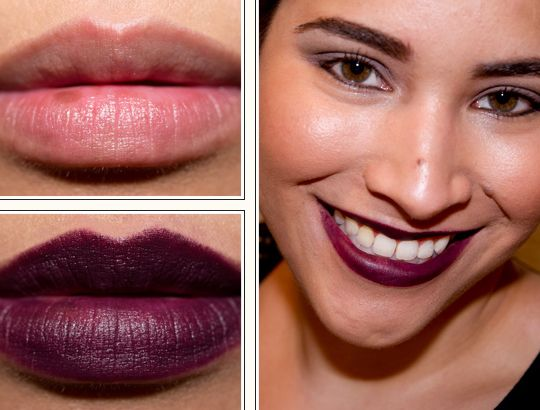 MAC Smoked Purple Lipstick Review, Photos, Swatches | Deep ...