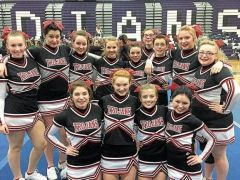 The Troy Varsity Competitive Spirit team is heading to the state championship competition in their Chassé uniforms!