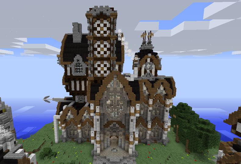 Victorian Castle - Grabcraft