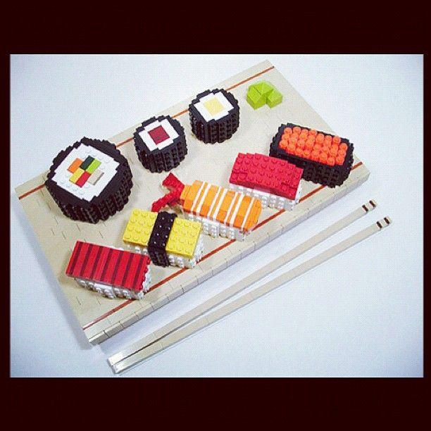 sushi leggo!!