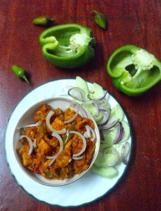 Chicken Jalfrezi Cooked In Microwave Oven Recipe Junction