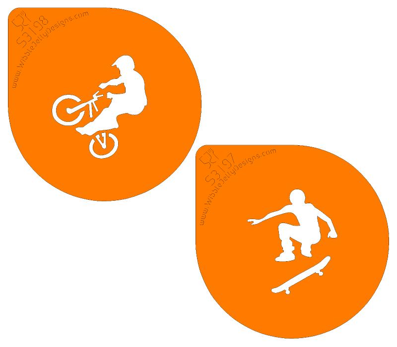 stencil design boys sports google search