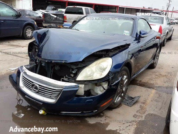 2006 Lexus Sc430 On Sale Parts Only Parting Out Advancebay Inc 227 Lexus Sc430 Lexus Vw Eos