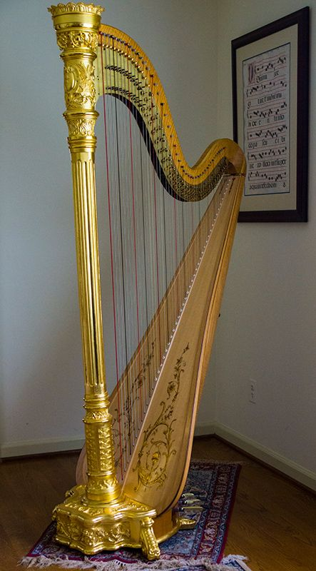 Pre-WWII Lyon & Healy Style 23 Gold, fully restored by H