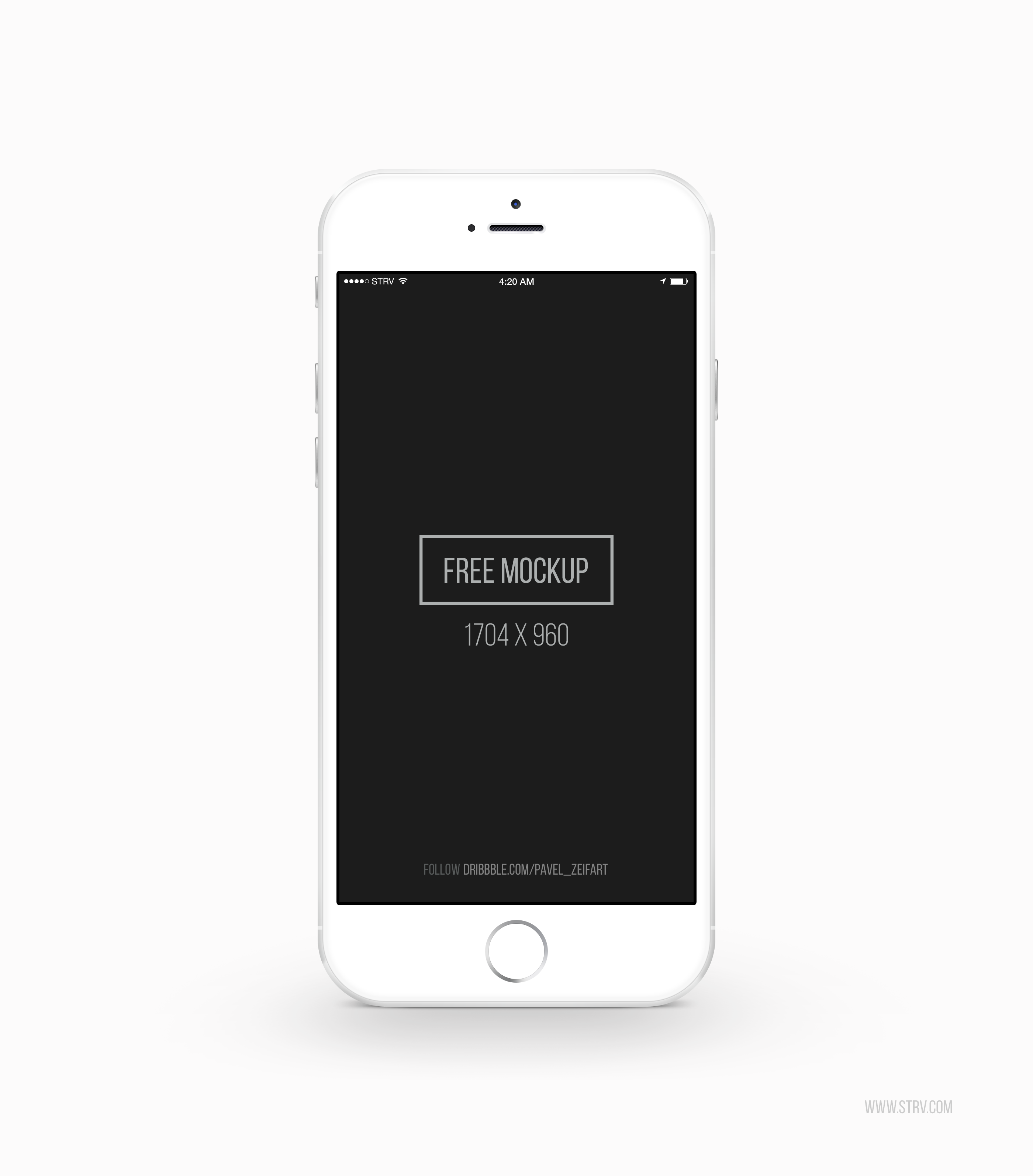 Download White Iphone 6 Psd Mockup Template Free Psd Vector Icons Iphone Mockup Free Iphone Mockup Template Free