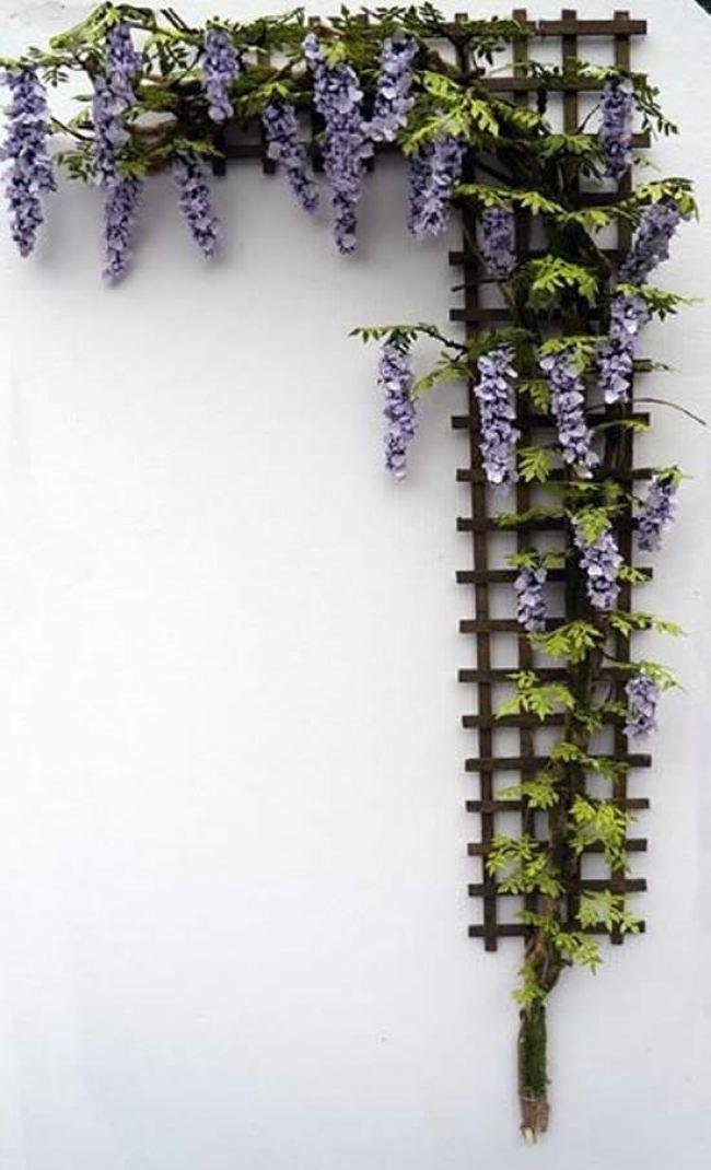 Wonderful Diy Trellises For Climbing Plants Wisteria 400 x 300