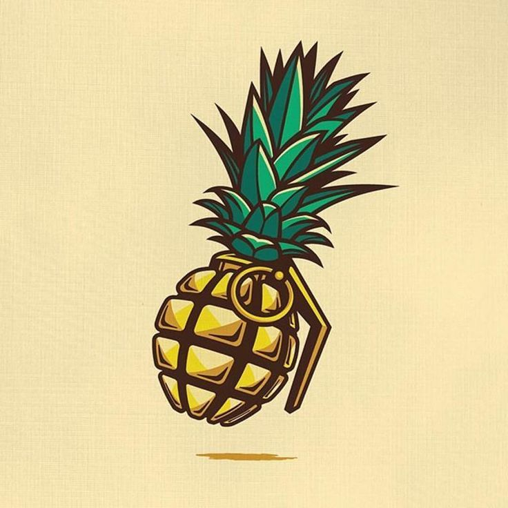a4a7cb90 pineapple grenade | Tattoo ideas in 2019 | Tattoo drawings ...