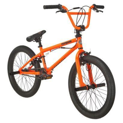 Mongoose Boy 39 S Index 2 0 20 34 Bike Orange Bmx Bikes