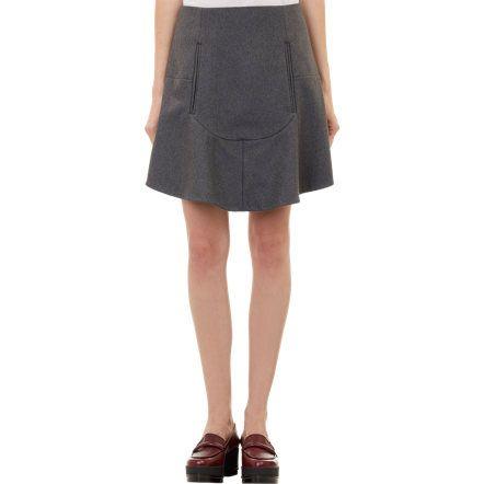 Carven Flounce Skirt at Barneys.com