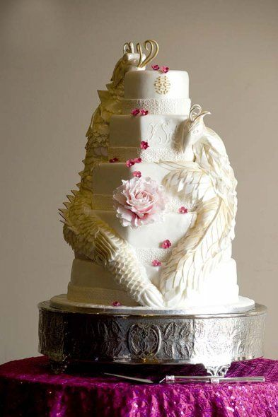 Chinese dragon cake Custom Made Wedding Cakes Mississauga