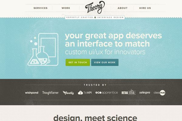 35 Beautiful Textured Web Designs - DesignM.ag