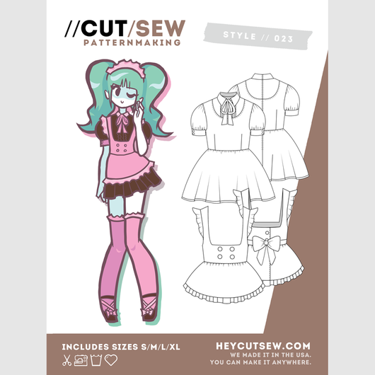 023 // maid cafe | Pinterest | Maids, Cosplay and Sewing patterns