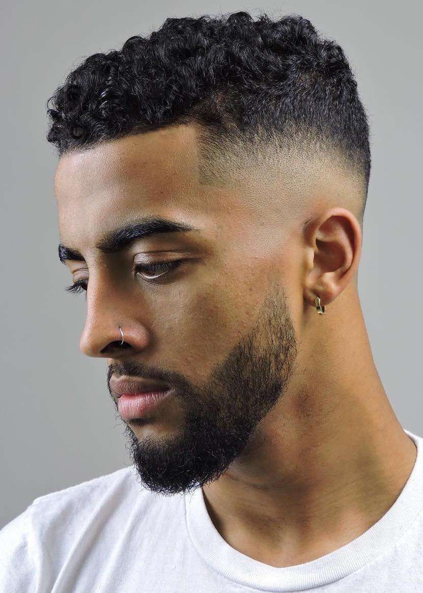 33 Best Men S Fade Haircuts Short To Medium Hair Lengths Mens Haircuts Fade Curly Hair Men Fade Haircut