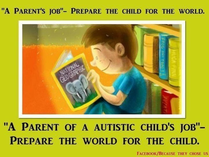 Aspergers single parent