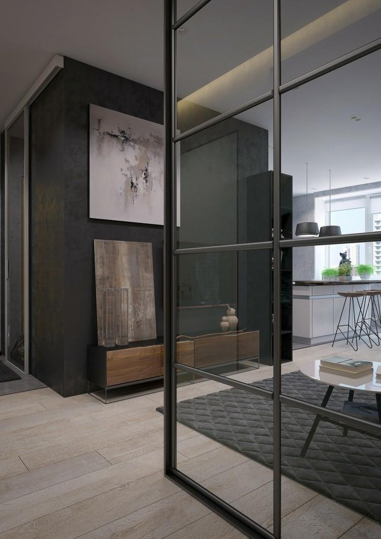 Glasinnenwände in zwei tollen Designs | Haus