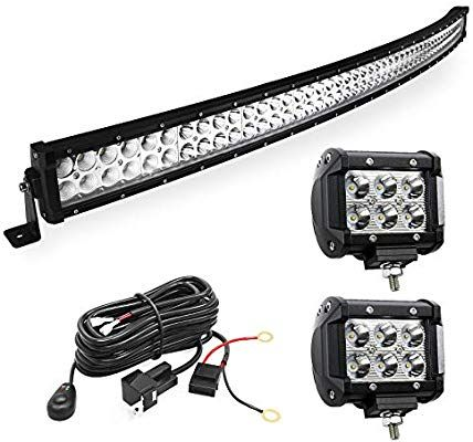 LED Light Bar YITAMOTOR Curved 50 Inch 288W Light Bar