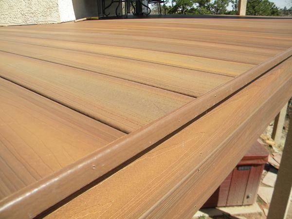 Edge Detail For Capped Composite Decking Composite Decking Deck Diy Deck