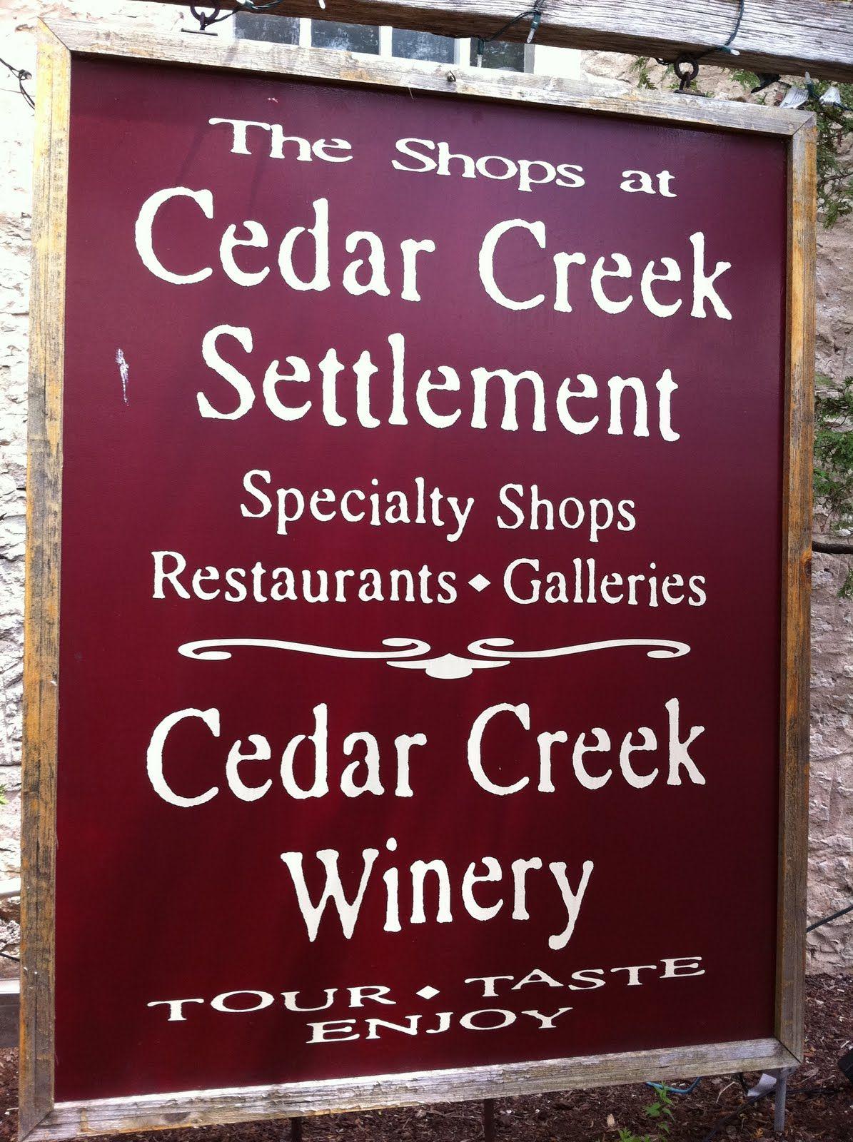 Cedarburg Cedar Creek Winery Winery Tours Cedarburg