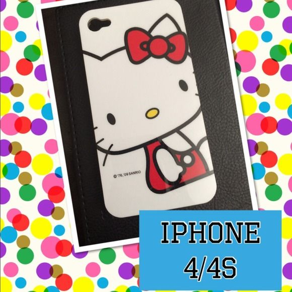 iPhone 4/4S Hello Kitty New Brand New never used Accessories