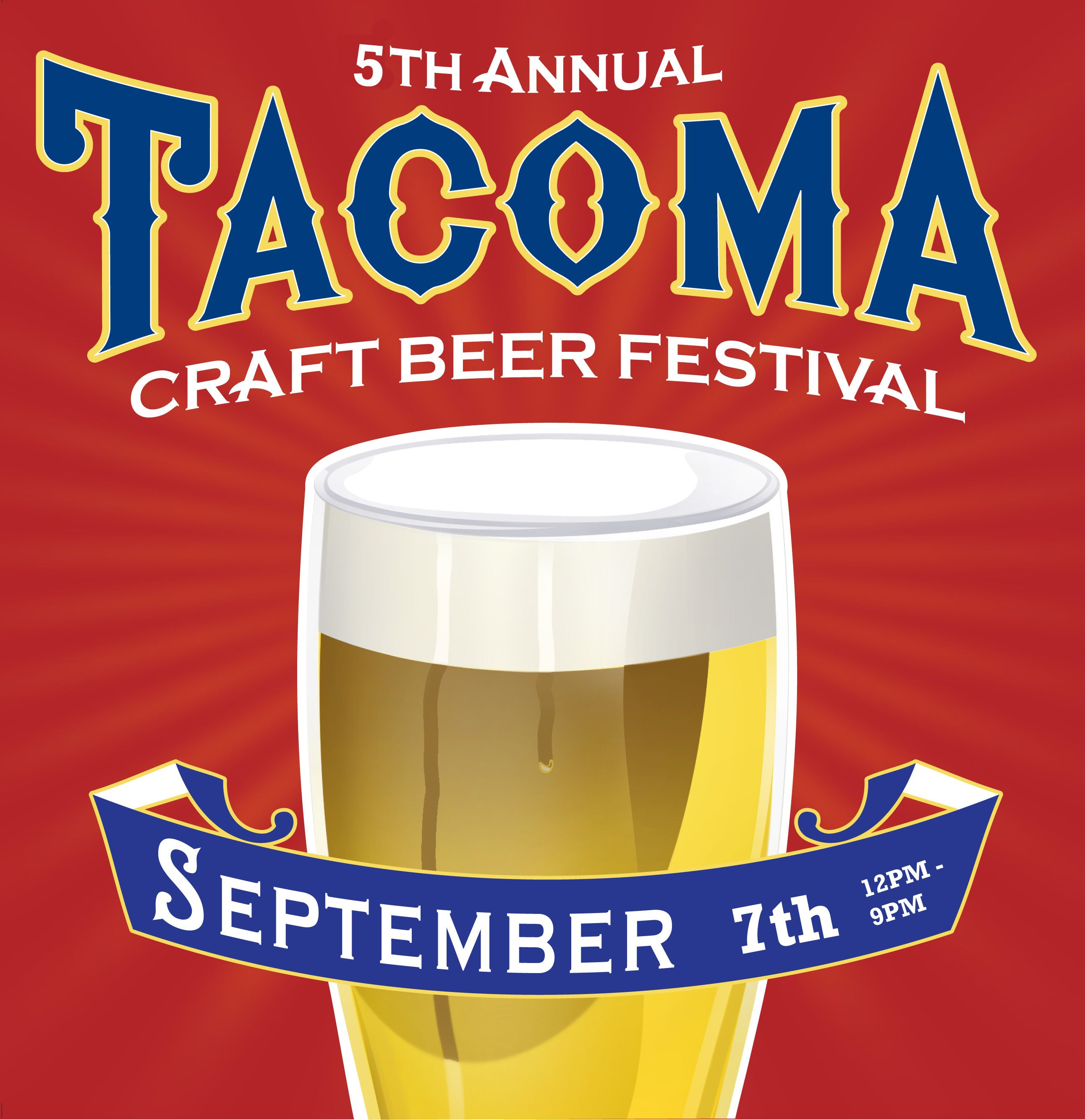 5th Annual Tacoma Craft Beer Festival I Can T Wait Craft Beer Festival Beer Festival Craft Beer