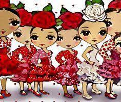 Resultado de imagen de CUENTO las niñas flamencas
