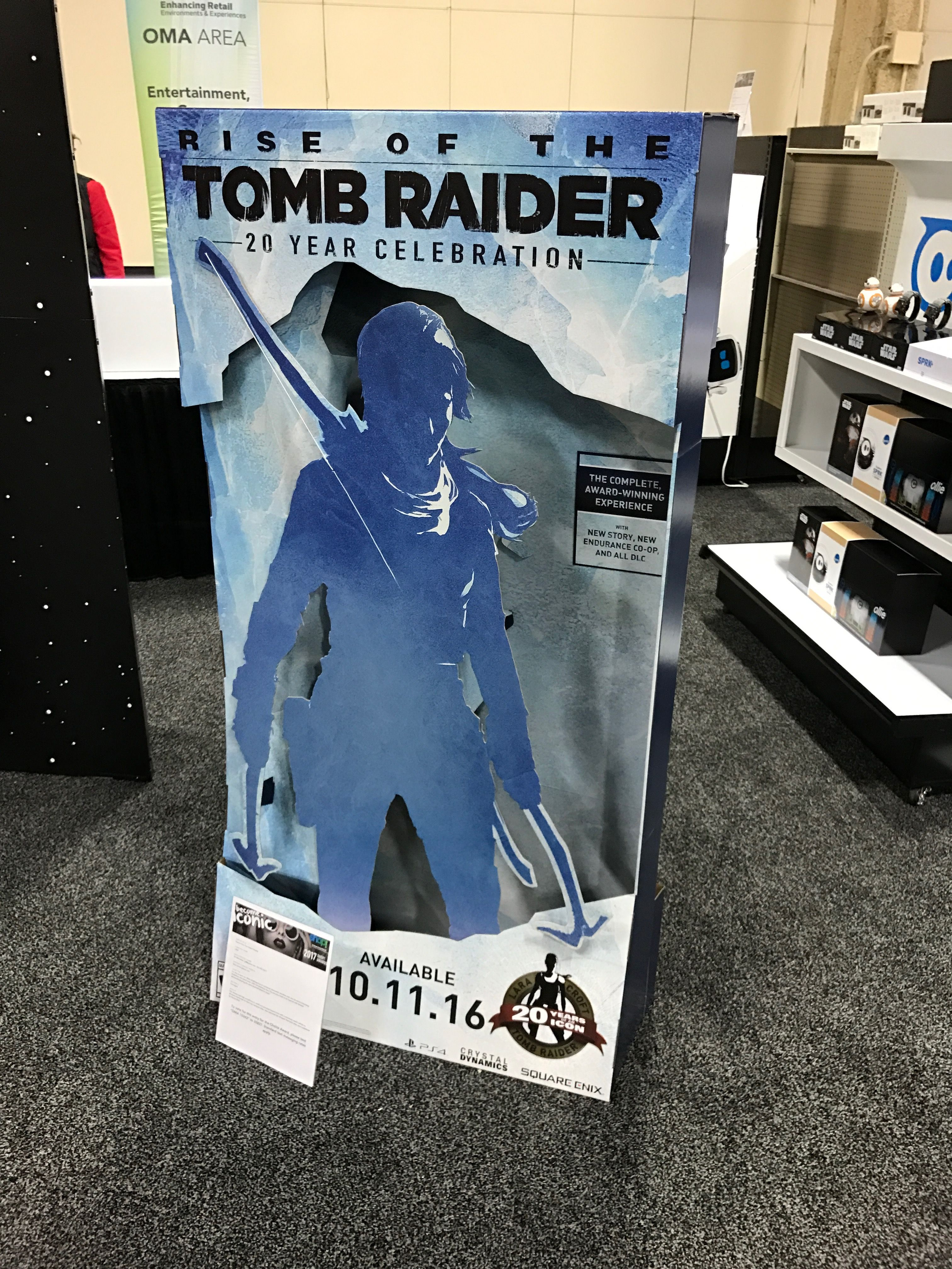 Looking To Purchase This Unit: Tomb Raider Free Standing Unit
