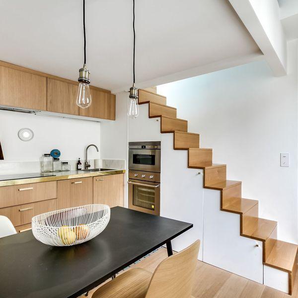 Amenager Une Cuisine Astucieuse Idees De Pro Amenagement Petit Espace Cuisine Sous Les Escaliers Architecte Interieur