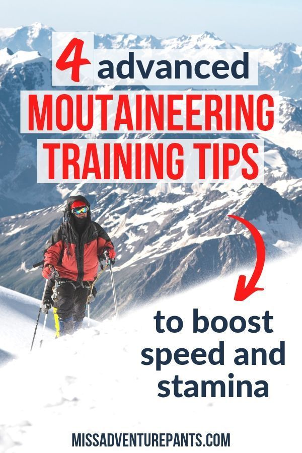 Ready to take your mountaineering fitness to the next level? Here are four advanced goals to work in...
