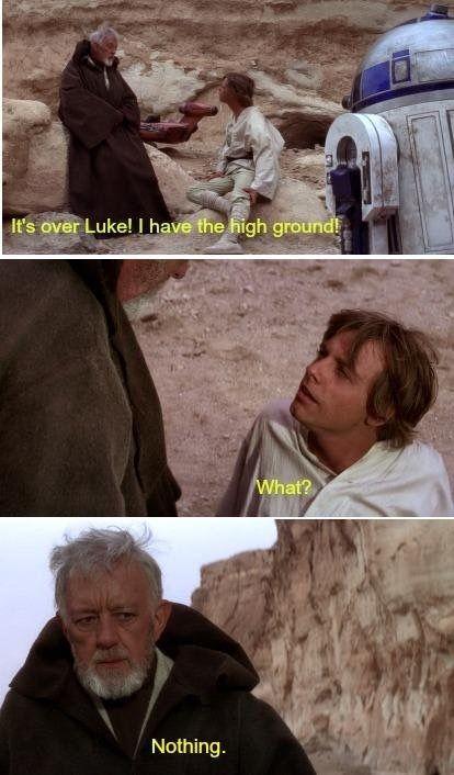 You Were The Chosen One Prequelmemes Star Wars Humor Star Wars Jokes Star Wars Memes
