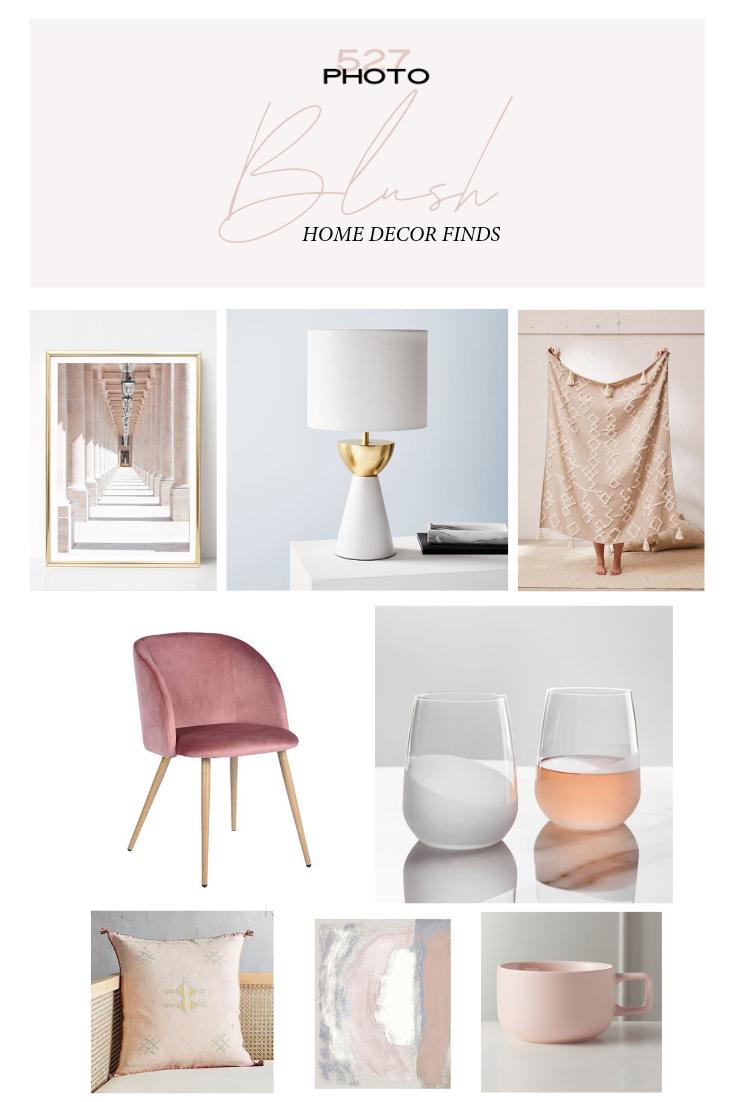 Blush Pink Decor Trend Via Remixed Interiors Blushpinkdecor Lightpinkdecor Blush Pink Decor Trending Decor Blush Decor
